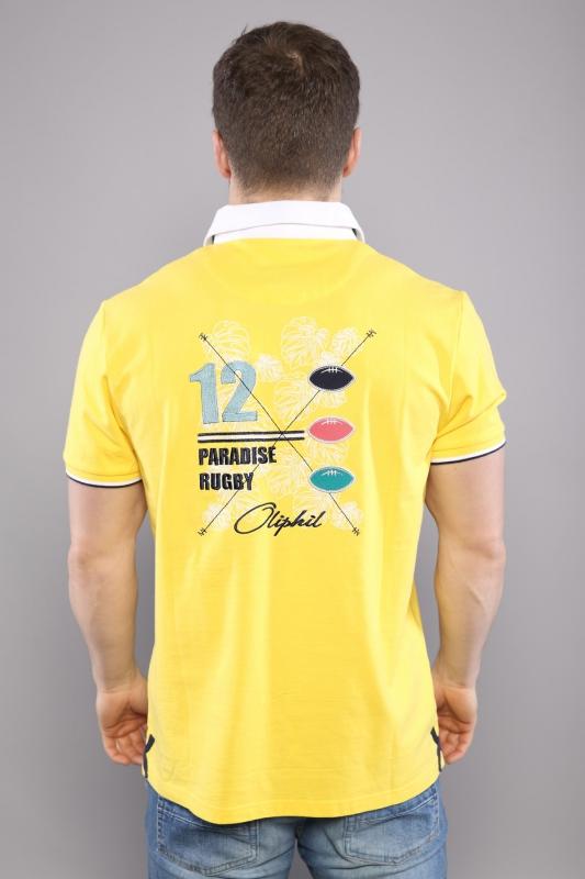 Polo motifs jaune